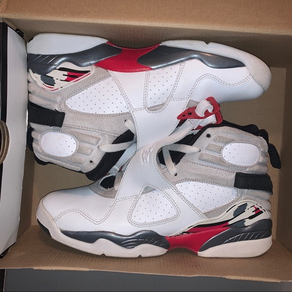 "Jordan Shoes - Air Jordan Retro 8 ""Bugs Bunny"" Almost New 6y"